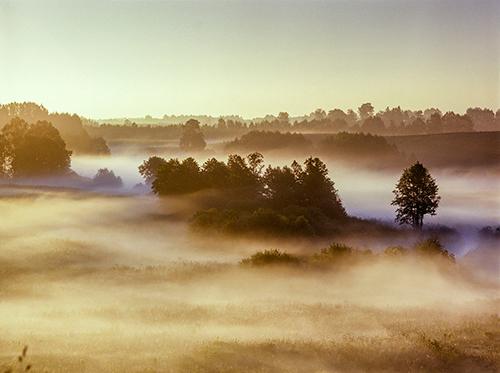 Warmia, dolina rzeki Kośny