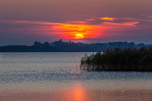Mazury, jezioro Łaśmiady