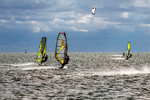 Windsurfing, Zatoka Pucka