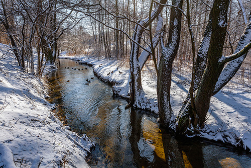 Rzeka Kortówka, Warmia