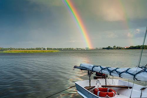 Mazury, jezioro Tałty
