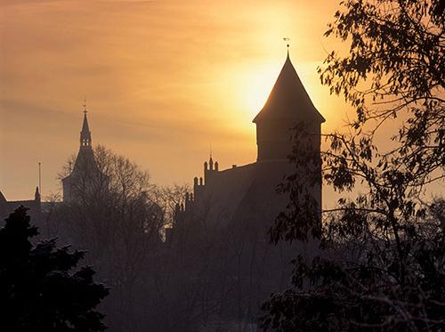 Olsztyn, zamek i katedra