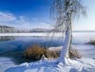 Zamarzające jezioro
