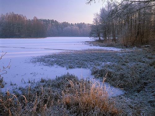 Warmia, jezioro Podkówka