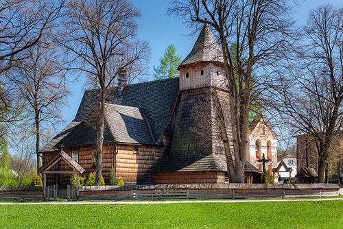 Binarowa Kościół Św. Michała Archanioła