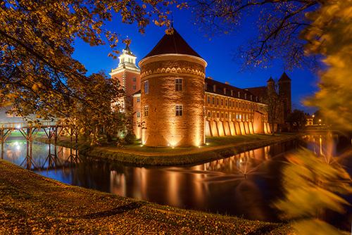 Lidzbark Warmiński, pałac barokowy