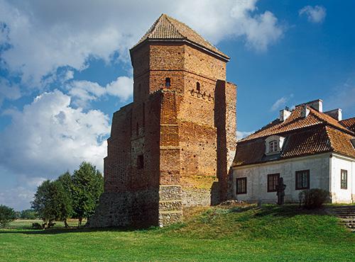 Liw zamek gotycki