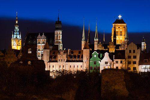 Gdańsk, panorama
