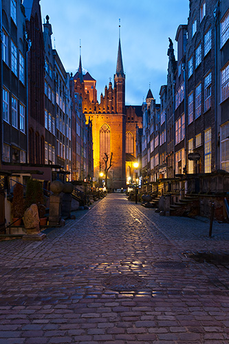 Gdańsk, ul. Mariacka