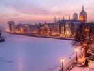 Gdańsk panorama zimowa