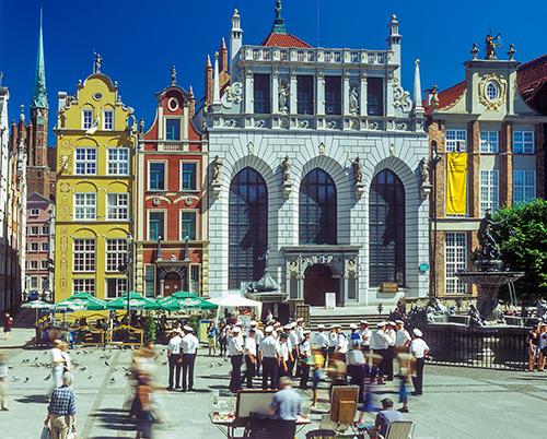 Gdańsk Dwór Artusa