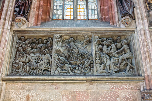 Norymberga, rzeźba Wita Stwosza