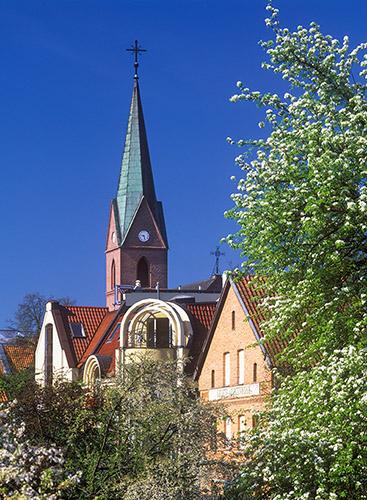 Olsztyn, kościół ewangelicki