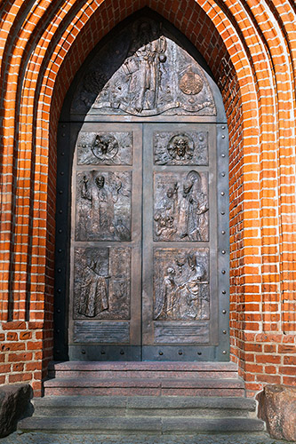 Olsztyn, katedra, portal