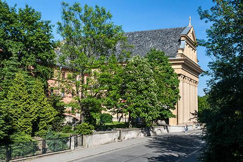 Olsztyn, kościół neorenesansowy z 1927 roku