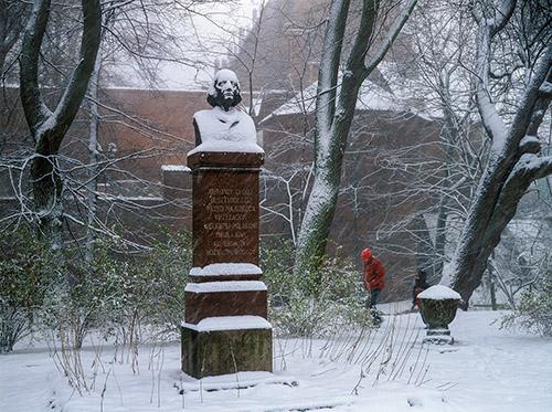 Olsztyn, pomnik Mikołaja Kopernika