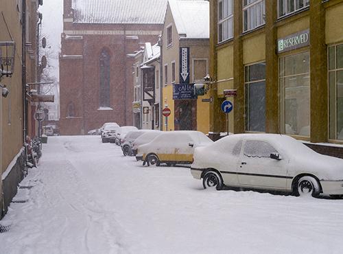 Olsztyn, ulica św. Barbary