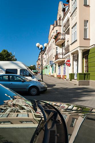 Olsztyn, ulica Dąbrowszczaków