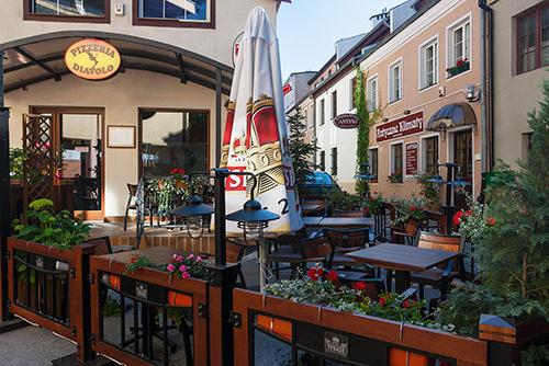Olsztyn, ulica Podwale