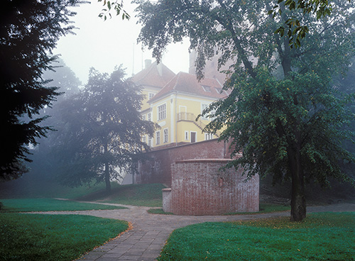 Olsztyn, zamek, część barokowa