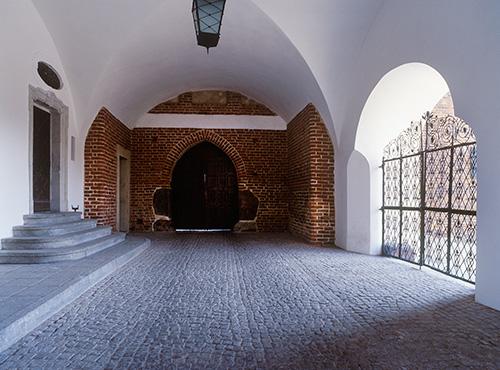 Olsztyn, zamek gotycki, brama