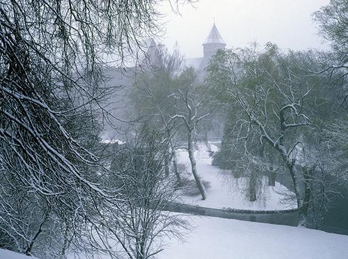 Olsztyn, zamek, panorama