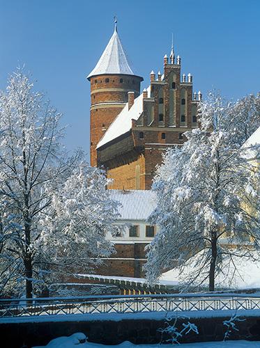Olsztyn, zamek gotycki z XIV wieku
