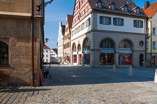 Weissenburg, Bawaria, centrum