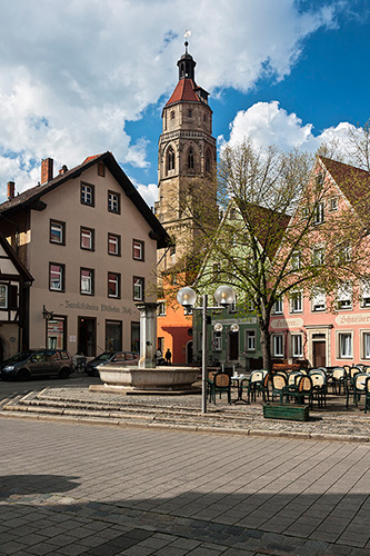 Weissenburg, Bawaria, kościół