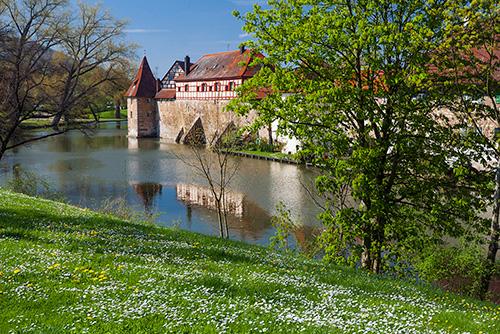 Weissenburg, Bawaria, mury obronne