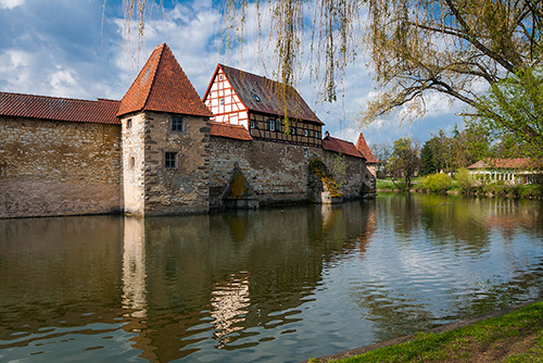 Weissenburg, mury obronne