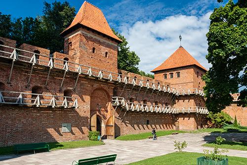 Frombork, brama zachodnia