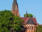 Gietrzwałd, kościół neogotycki
