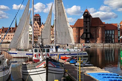 Gdańsk, żuraw