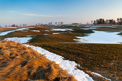 Zaorane pole