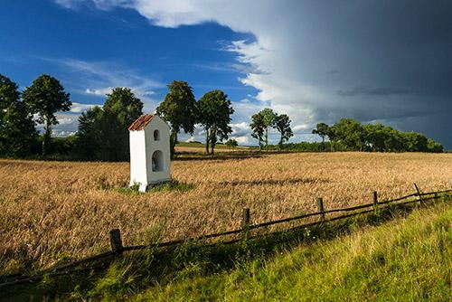 Kapliczka w polu