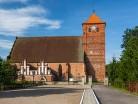 Barciany, kościół gotycki