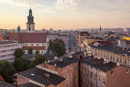 Bydgoszcz panorama