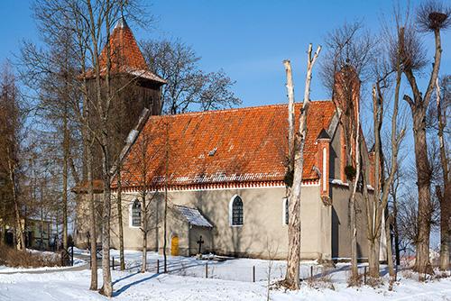Bażyny kościół