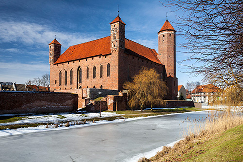 Lidzbark Warmiński zamek