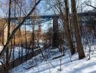 Pieniężno most kolejowy
