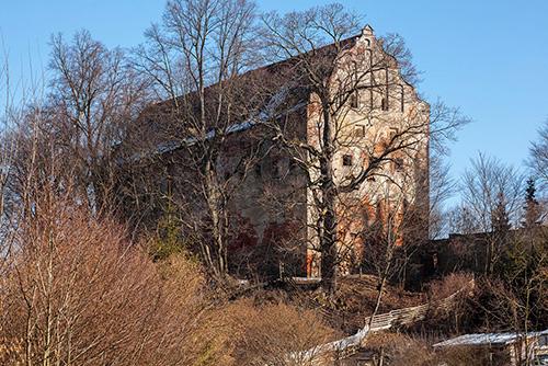 Pieniężno zamek