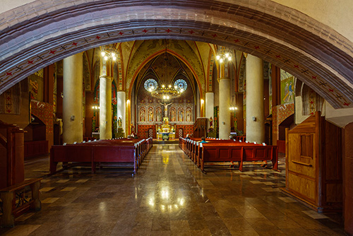 Olsztyn kościół garnizonowy