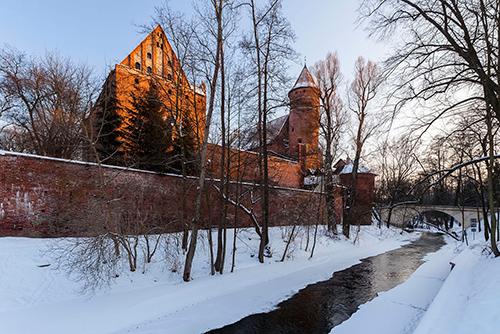 Olsztyn zamek gotycki