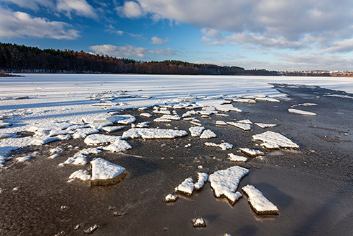 Warmia, jezioro Kortowskie