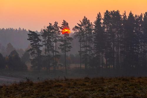 Wschód słońca