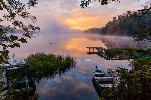 Łowienie o świcie