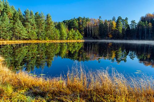 Mazury jesienią
