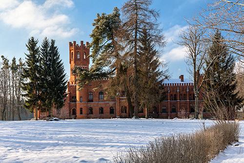 Sorkwity, pałac