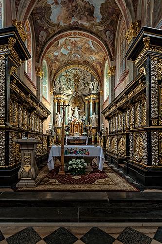 Jędrzejów, kościół cysterski